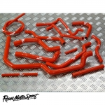 Roose Motorsport BMW E36 M43B 1.6/1.8 SOHC 8V (1993-1998) Silicone Mixed Ancillary Hose Kit - RMS200M