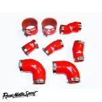 Roose Motorsport Audi RS6 C5 4.2 V8 Bi-Turbo (2002-2004) Silicone Boost & Induction Hose Kit - RMS89B