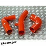 Roose Motorsport Ford Escort Cosworth 2.0 T35 Turbo Silicone Boost Hose Kit (With Dump Valve Spout) - RMS11BDV
