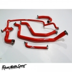 Roose Motorsport Fiat Barchetta Roadster 1747cc 4 Cylinder (1995-2005) Silicone Ancillary Hose Kit - RMS308A