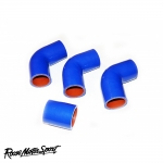 Roose Motorsport Land Rover Defender 200TDI 2.5 90/110 BHP (1991-1998) Silicone Boost Hose Kit - RMS204B