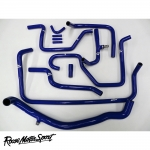 Roose Motorsport Land Rover Defender TD5 10P 2.5 90/110 BHP LHD (1997-2001) Silicone Heater Matrix Hose Kit - RMS208A10PLHD