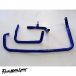 Roose Motorsport Land Rover Defender TD5 10P 2.5 90/110 BHP LHD (1997-2001) Silicone Heater Matrix Hose Kit - RMS208HMLHD