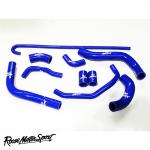 Roose Motorsport Honda CBR 600RR HRC Race Bike (2009-2012) Silicone Coolant Hose Kit - RMS183C