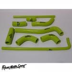 Roose Motorsport Kawasaki ZX7-RR Race Bike N1/N2/N3/N4/N5 Silicone Coolant Hose Kit - RMS147RBC
