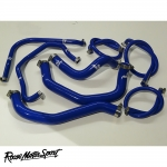 Roose Motorsport Kawasaki ZX-6R B1H/B2H (2003-2004) Silicone Coolant Hose Kit - RMS181C