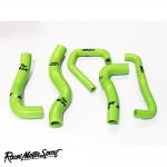 Roose Motorsport Kawasaki ZX-6R (2009-2012) Silicone Coolant Hose Kit - RMS184C