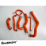 Roose Motorsport Kawasaki ZX-6R Ninja (2009-2012) Silicone Coolant Hose Kit - RMS192C