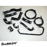 Roose Motorsport Yamaha YZF R6 2CO/13S (2006-2016) Silicone Coolant Hose Kit - RMS194C