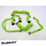 Roose Motorsport Kawasaki ZX9RC1 (1998-1999) Silicone Coolant Hose Kit - RMS508C